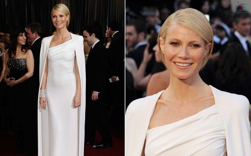 Gwyneth Paltrow arrived at the 2012 Oscars