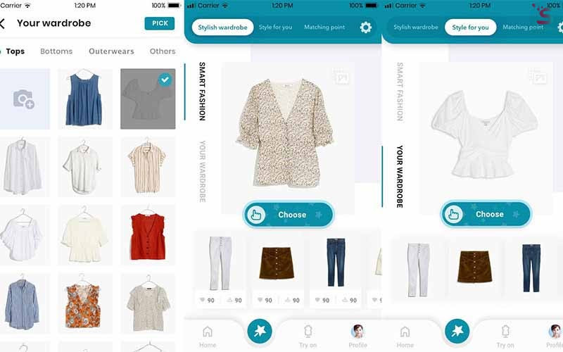 AI stylist will help you manage your closet.