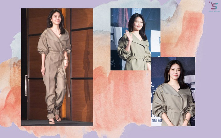 soo young diện jumpsuit